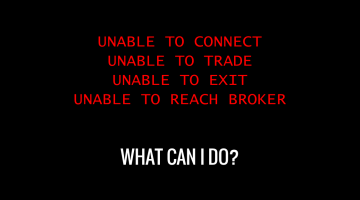 What To Do When Your Day Trading Broker Fails?