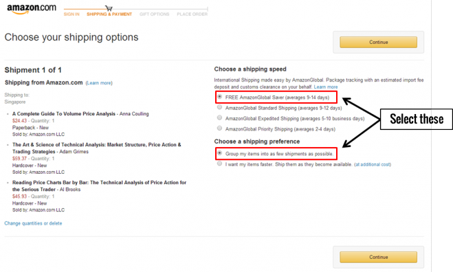 How to check if your purchases qualify for free international shipping