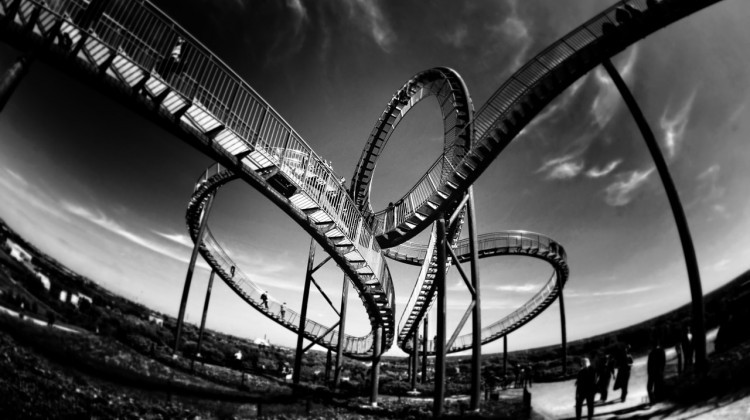 Trading Emotions on Roller Coaster