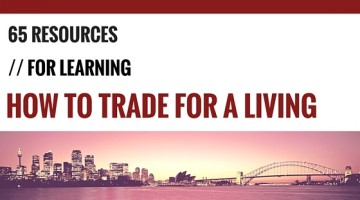 65 resources for learning how to trade for a living
