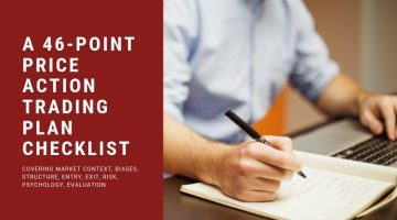 A 46-Point Price Action Trading Plan Checklist